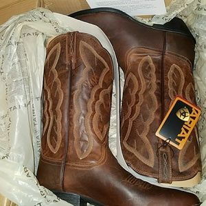 New ariat heritage western r toe boots sassy brown